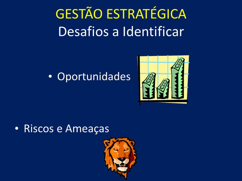 GESTÃO ESTRATÉGICA Desafios a Identificar