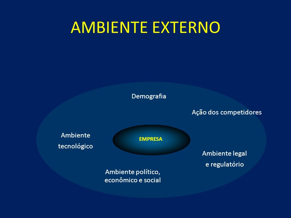 Ambiente político, econômico e social