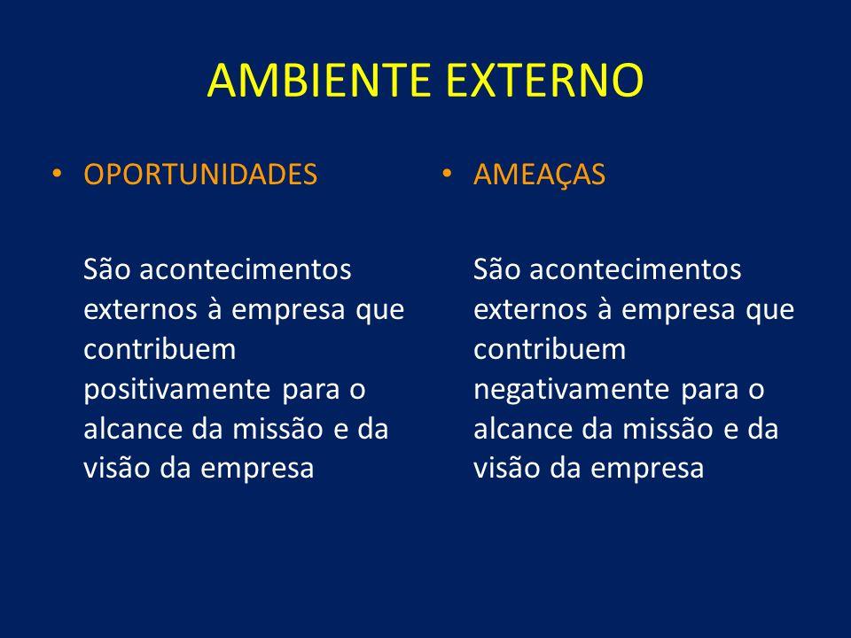 AMBIENTE EXTERNO OPORTUNIDADES