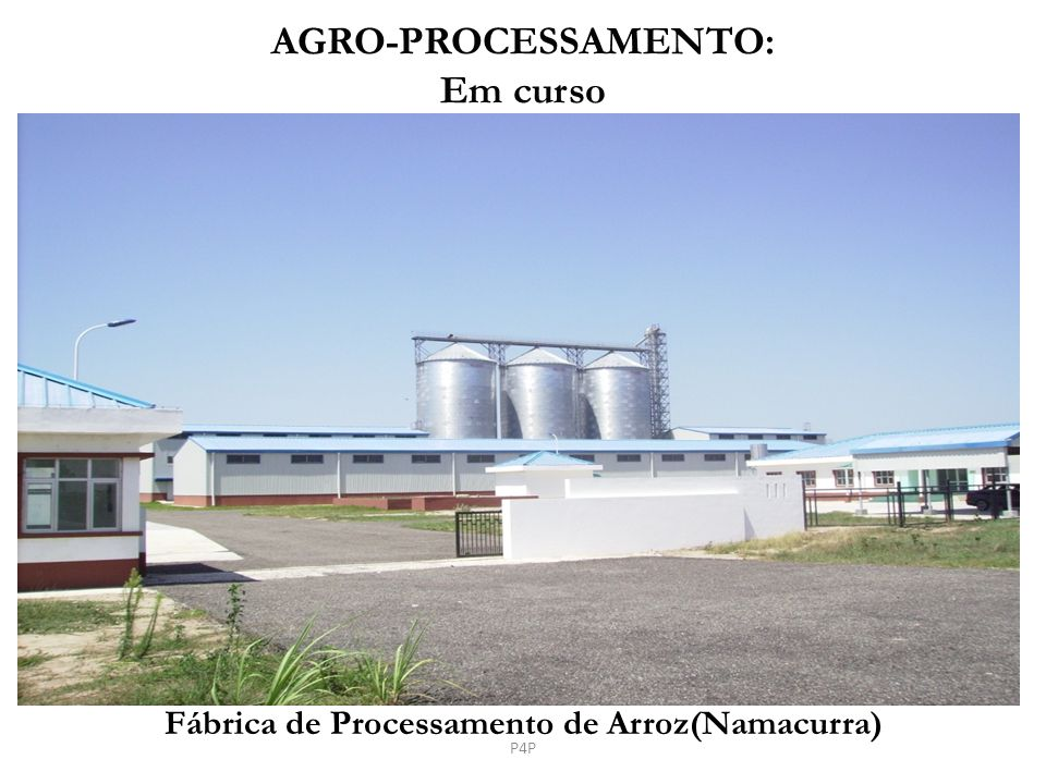 Fábrica de Processamento de Arroz(Namacurra)
