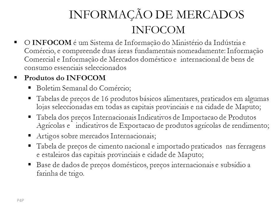INFORMAÇÃO DE MERCADOS INFOCOM