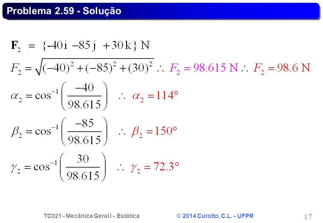Problema 2.59 - Solução