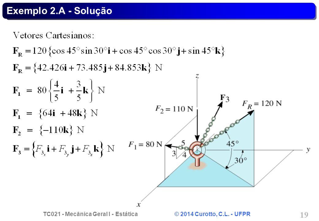 Exemplo 2.A - Solução