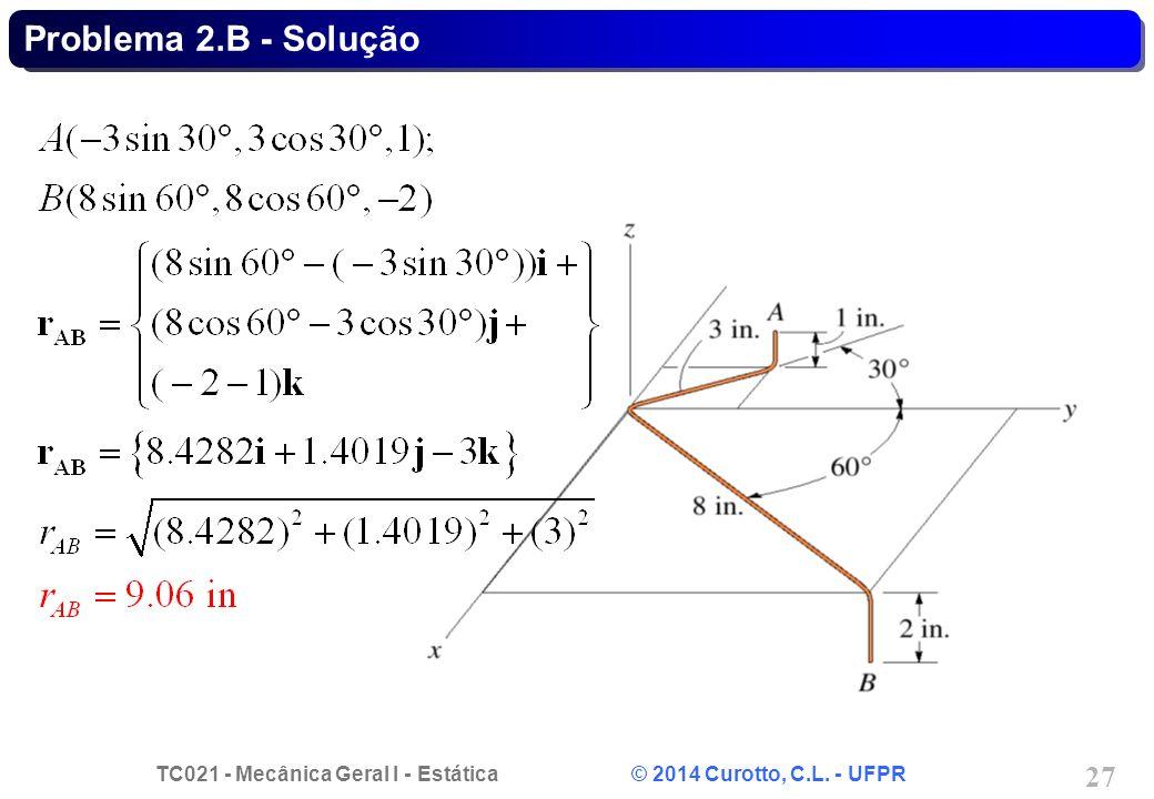 Problema 2.B - Solução