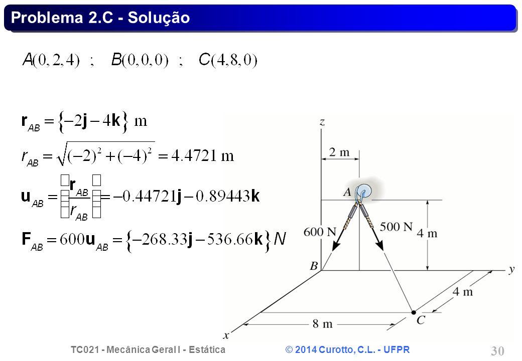 Problema 2.C - Solução