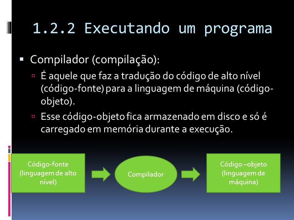 1.2.2 Executando um programa
