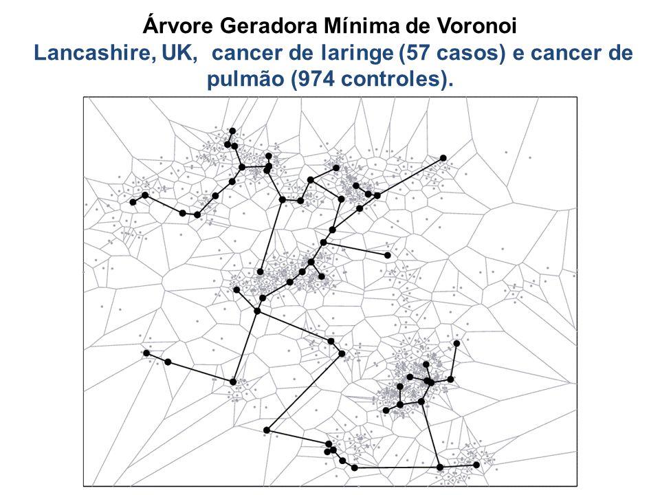 Árvore Geradora Mínima de Voronoi