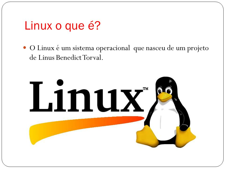 Linux o que é.