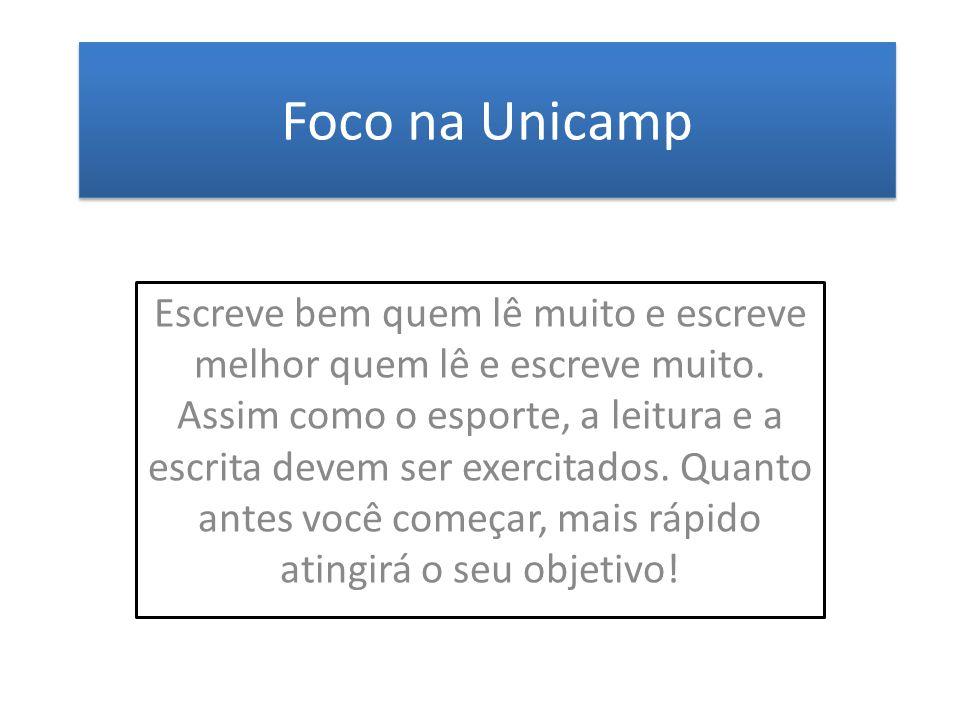 Foco na Unicamp