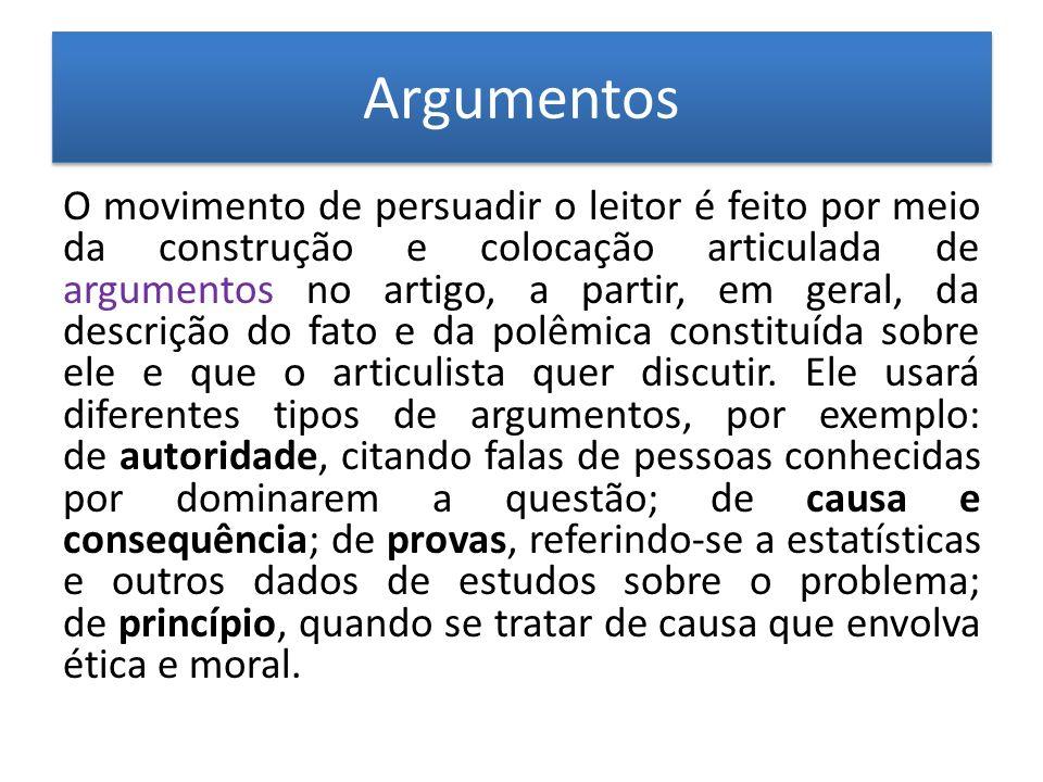Argumentos