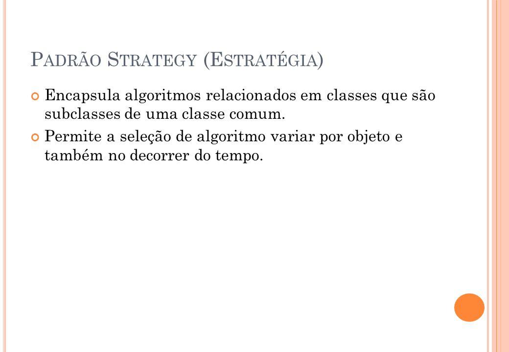 Padrão Strategy (Estratégia)