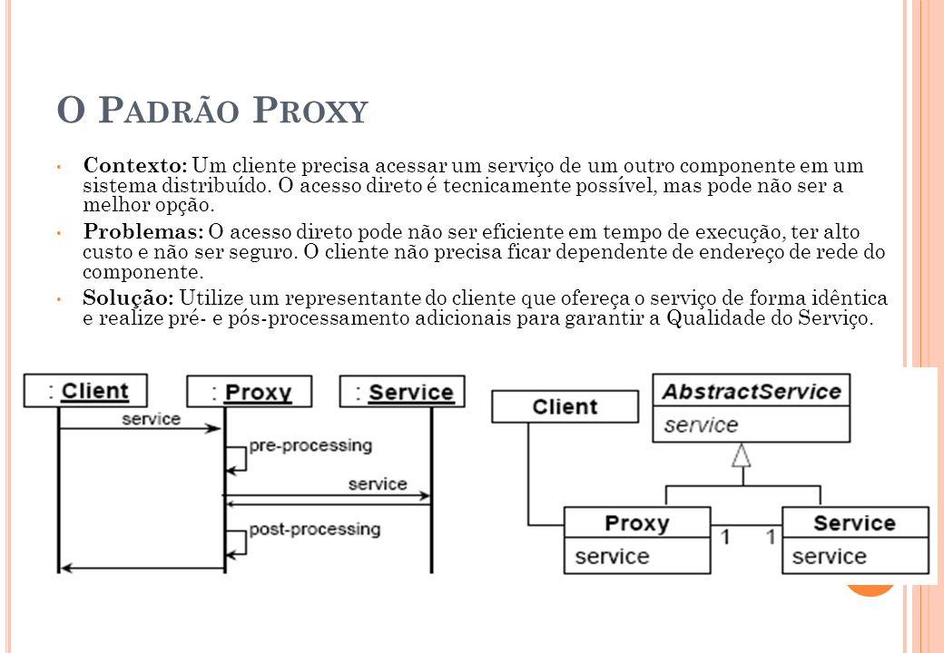 O Padrão Proxy