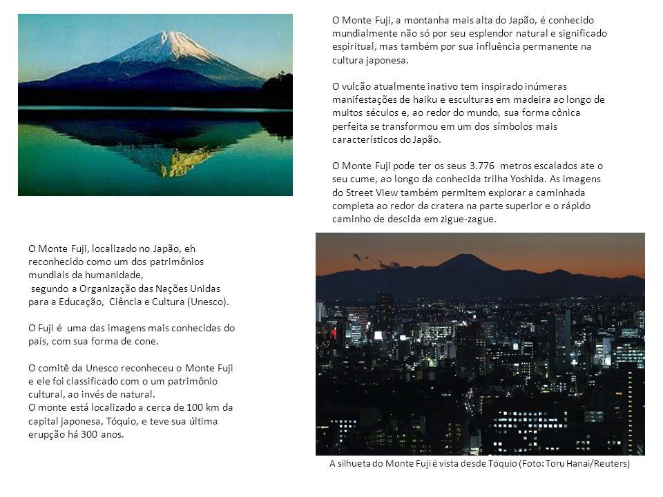 O Monte Fuji, a montanha mais alta do Japão, é conhecido mundialmente não só por seu esplendor natural e significado espiritual, mas também por sua influência permanente na cultura japonesa.