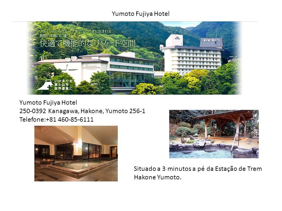 Yumoto Fujiya Hotel Yumoto Fujiya Hotel. 250-0392 Kanagawa, Hakone, Yumoto 256-1. Telefone:+81 460-85-6111.