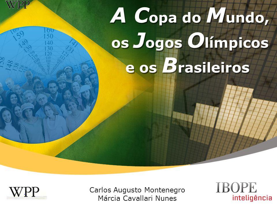 A Copa do Mundo, os Jogos Olímpicos e os Brasileiros