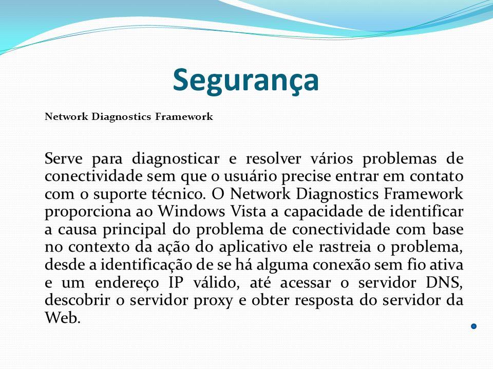 Segurança Network Diagnostics Framework