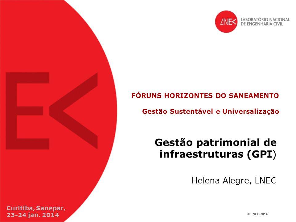 FÓRUNS HORIZONTES DO SANEAMENTO Gestão Sustentável e Universalização