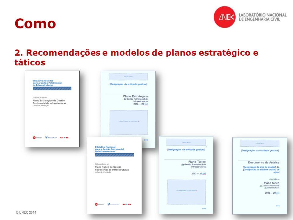 Como 2. Recomendações e modelos de planos estratégico e táticos