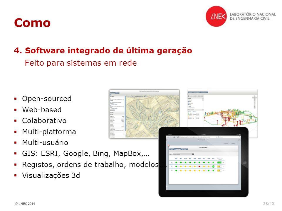 Como 4. Software integrado de última geração