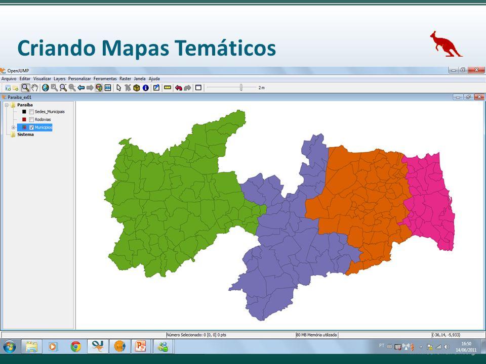 Criando Mapas Temáticos