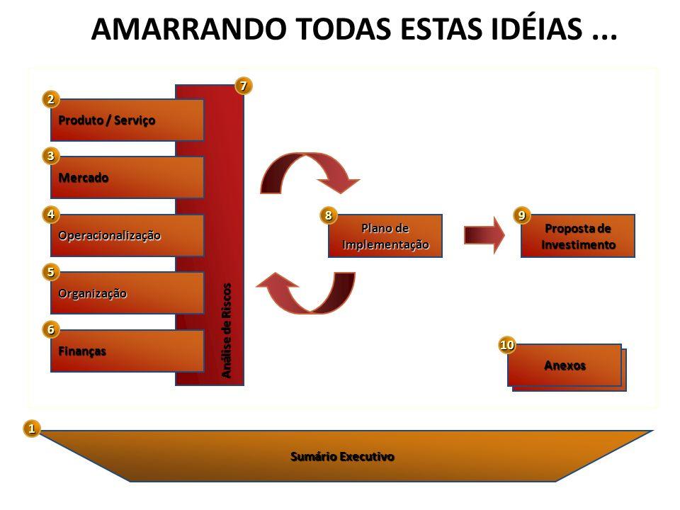 AMARRANDO TODAS ESTAS IDÉIAS ...
