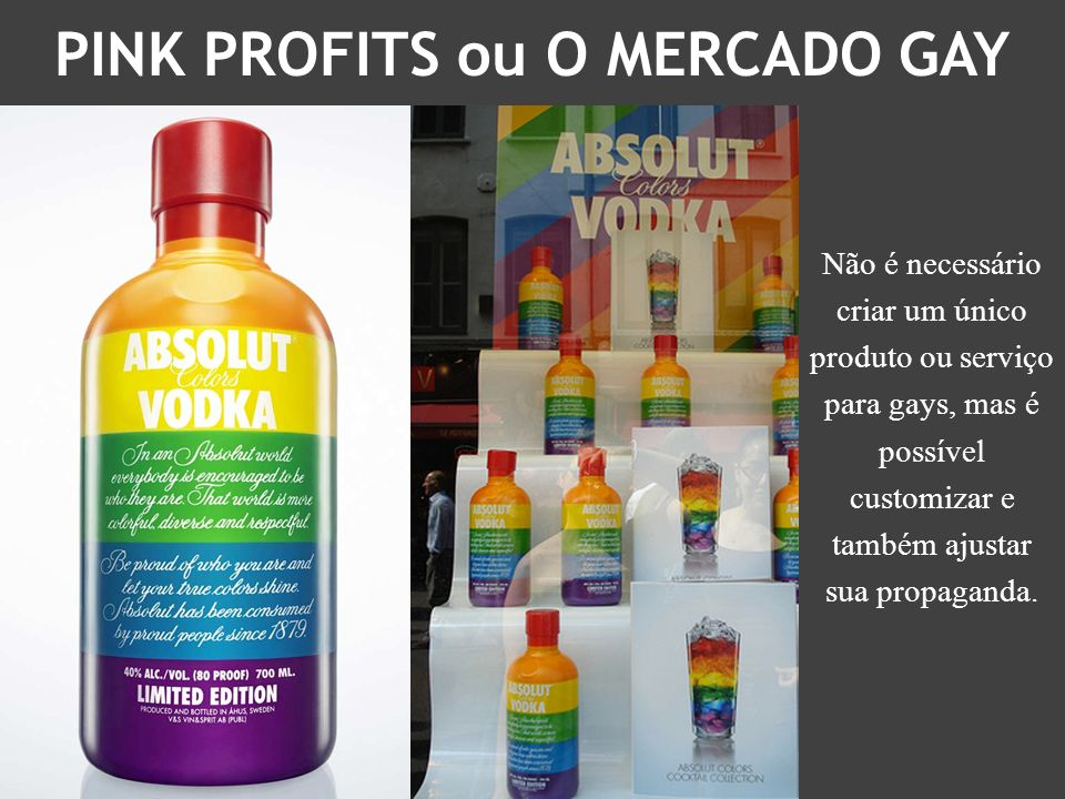 PINK PROFITS ou O MERCADO GAY