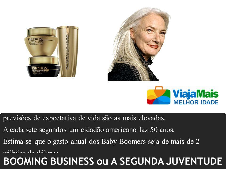 BOOMING BUSINESS ou A SEGUNDA JUVENTUDE