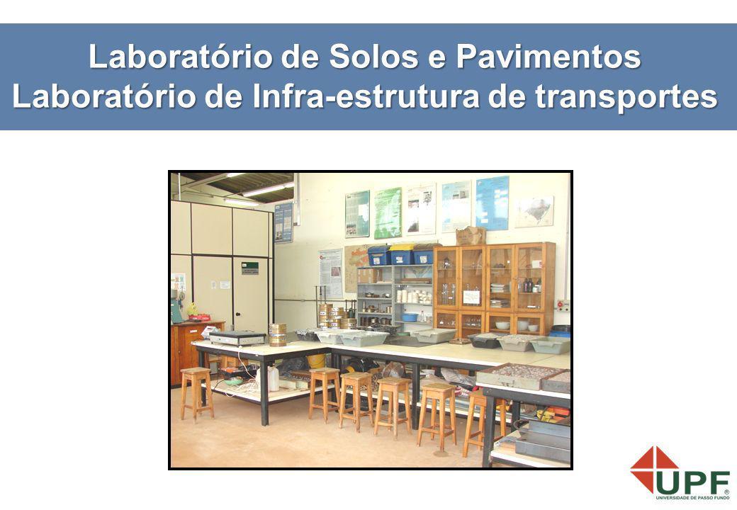 Laboratório de Solos e Pavimentos