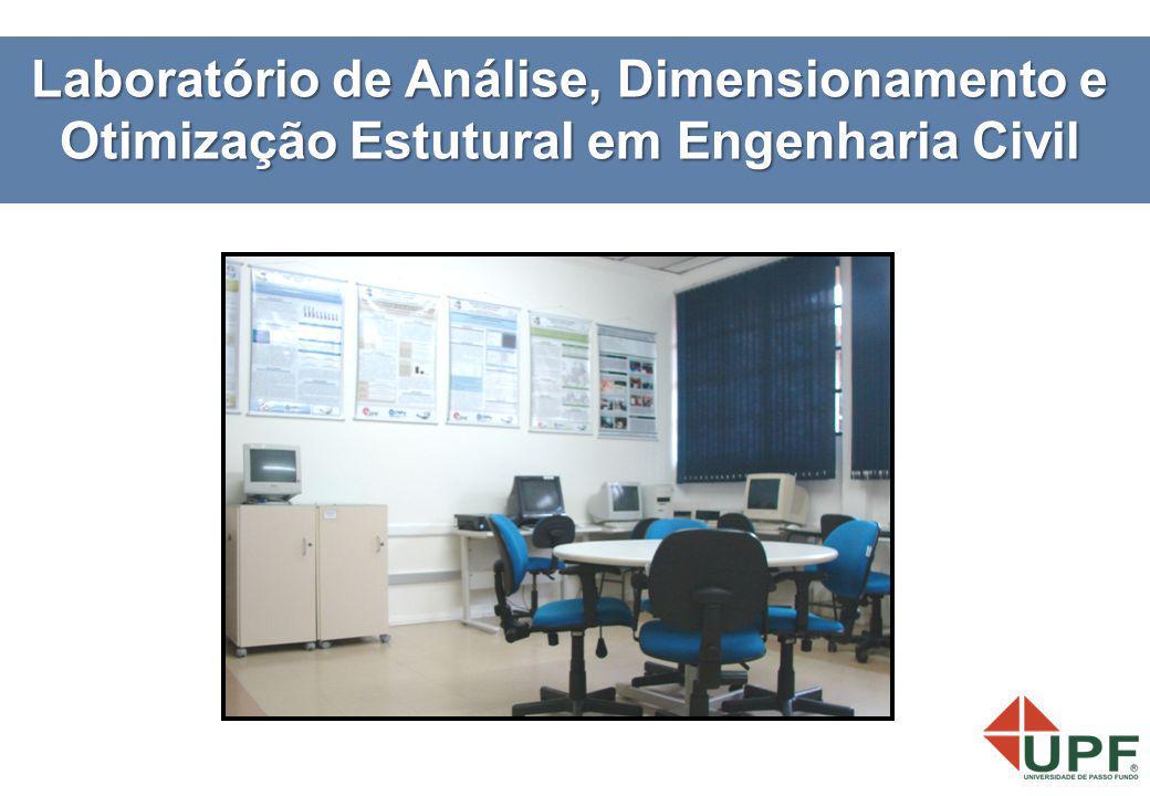 Laboratório de Análise, Dimensionamento e Otimização Estutural em Engenharia Civil