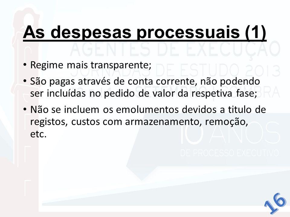 As despesas processuais (1)