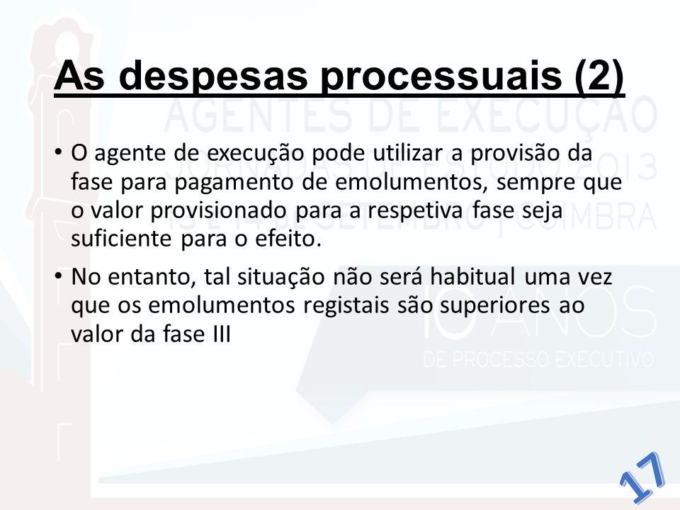 As despesas processuais (2)