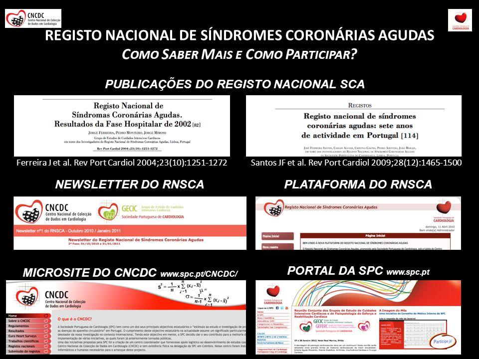 MICROSITE DO CNCDC www.spc.pt/CNCDC/