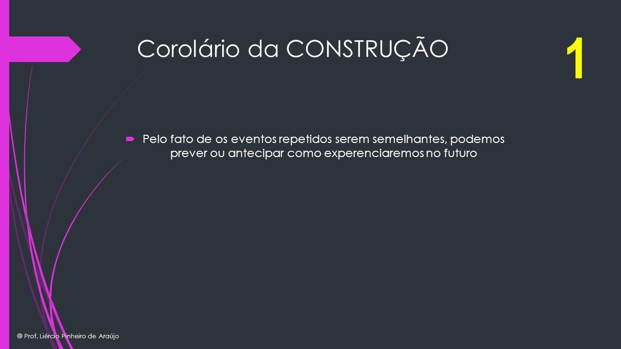 Corolário da CONSTRUÇÃO