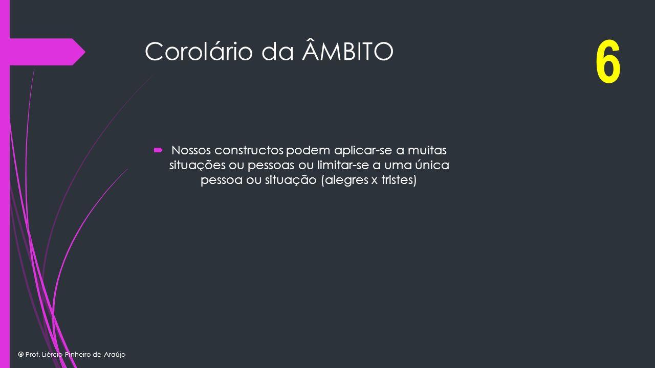 6 Corolário da ÂMBITO.