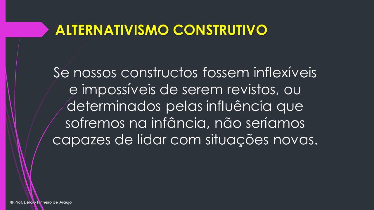 ALTERNATIVISMO CONSTRUTIVO