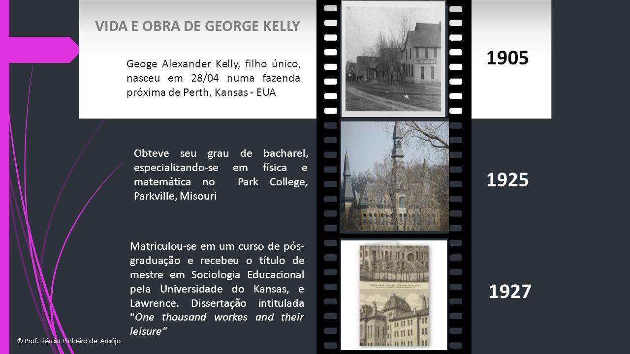 1905 1925 1927 VIDA E OBRA DE GEORGE KELLY