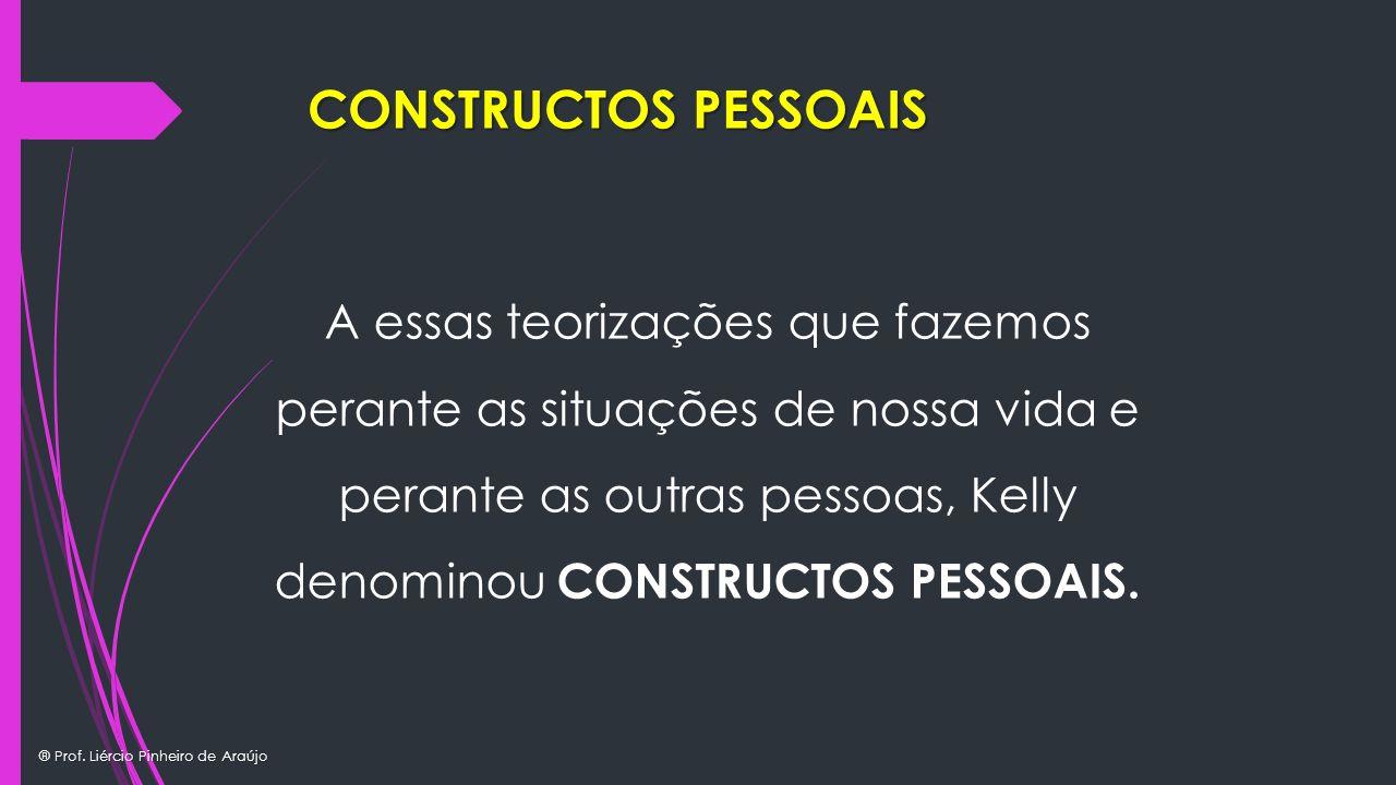CONSTRUCTOS PESSOAIS