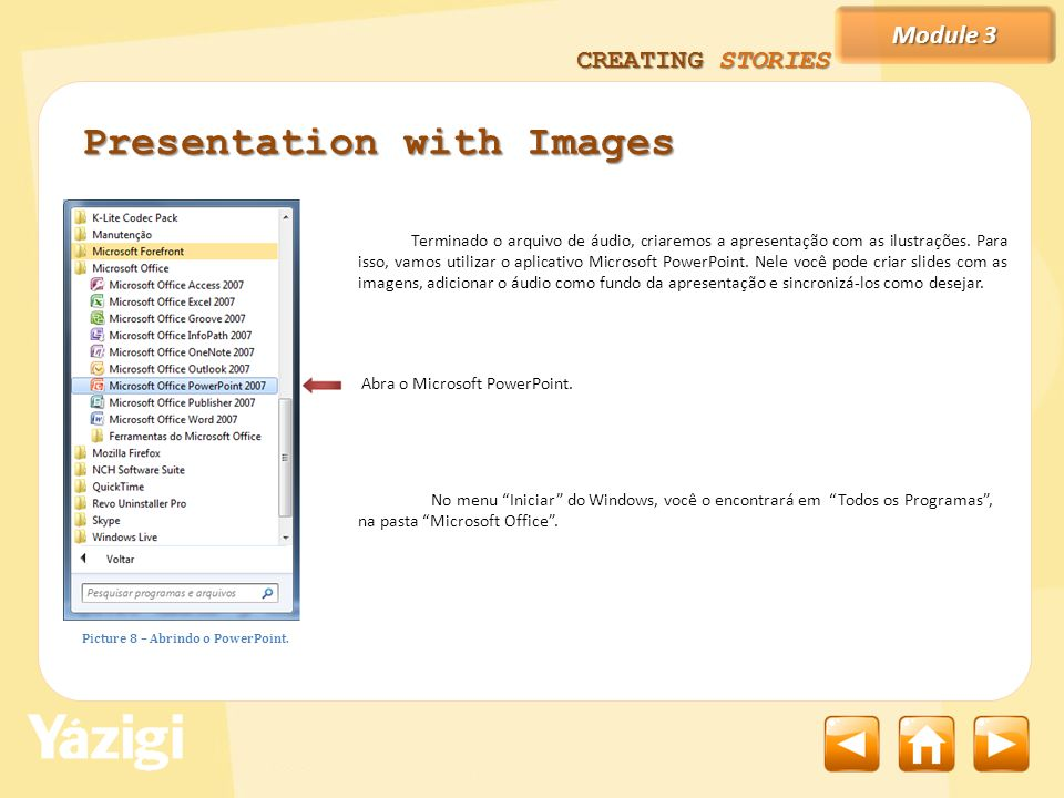 Presentation with Images