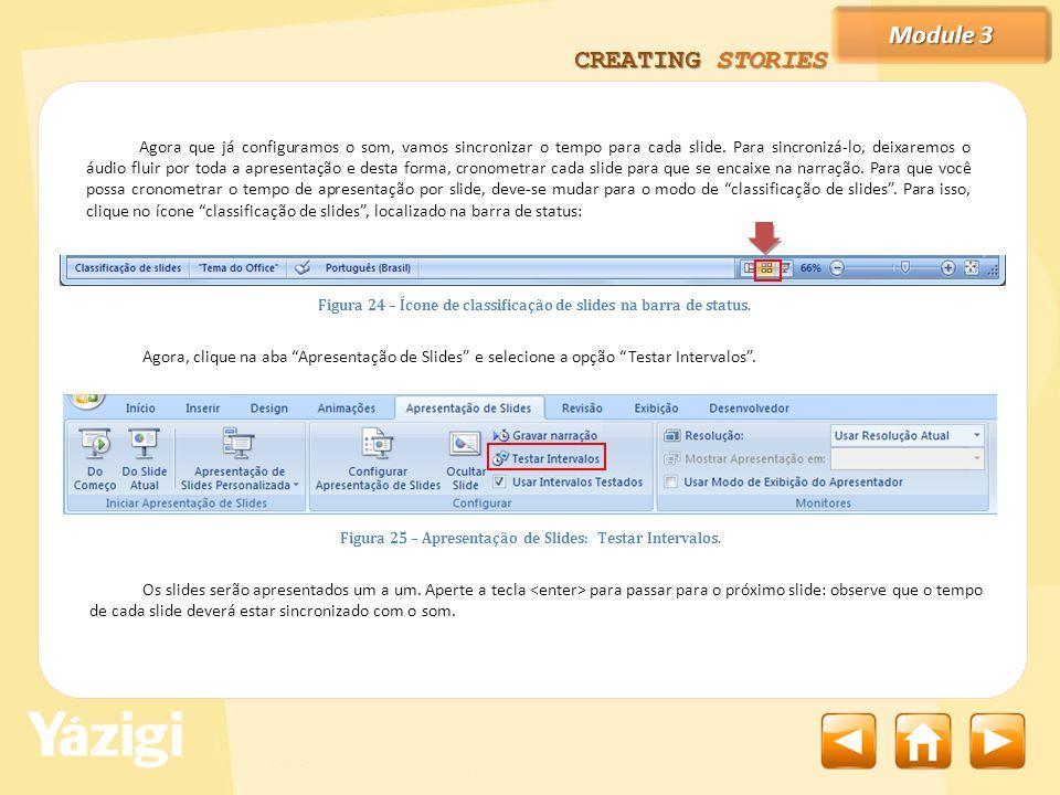 Module 3 CREATING STORIES