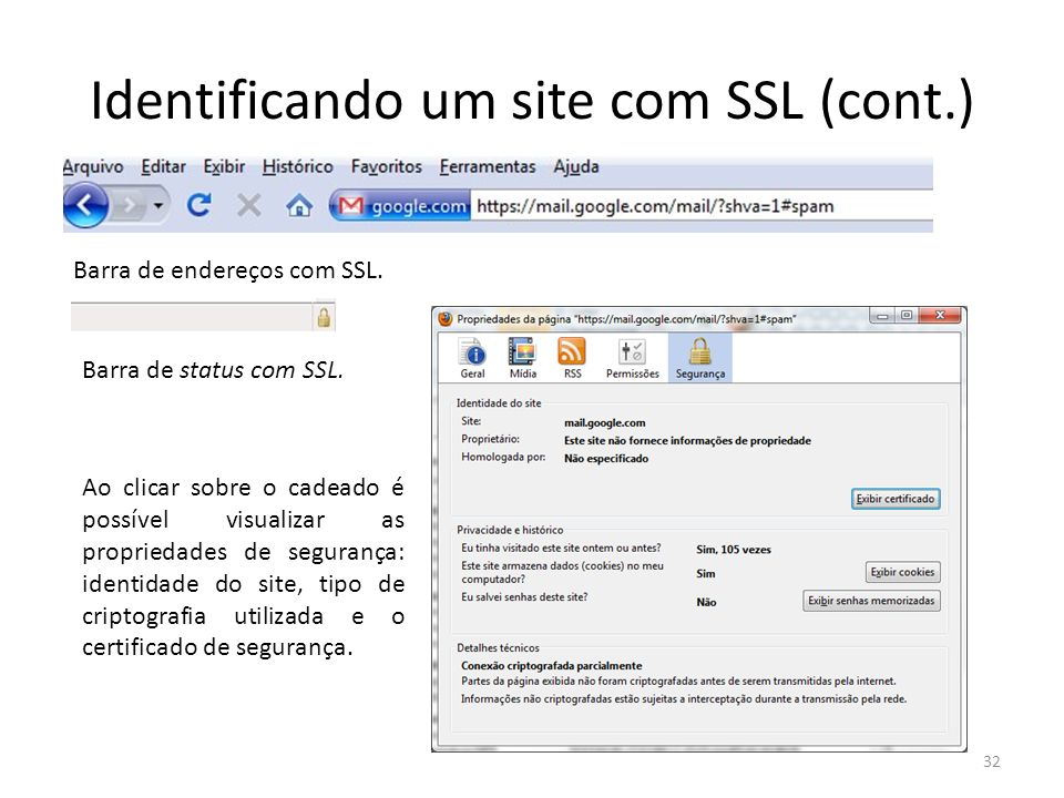 Identificando um site com SSL (cont.)