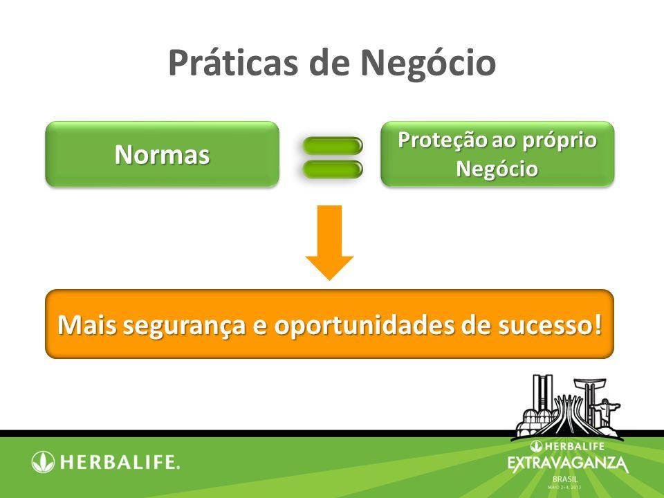 Mais segurança e oportunidades de sucesso!