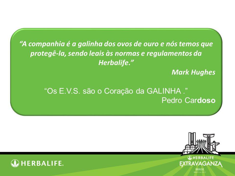 Os E.V.S. são o Coração da GALINHA .