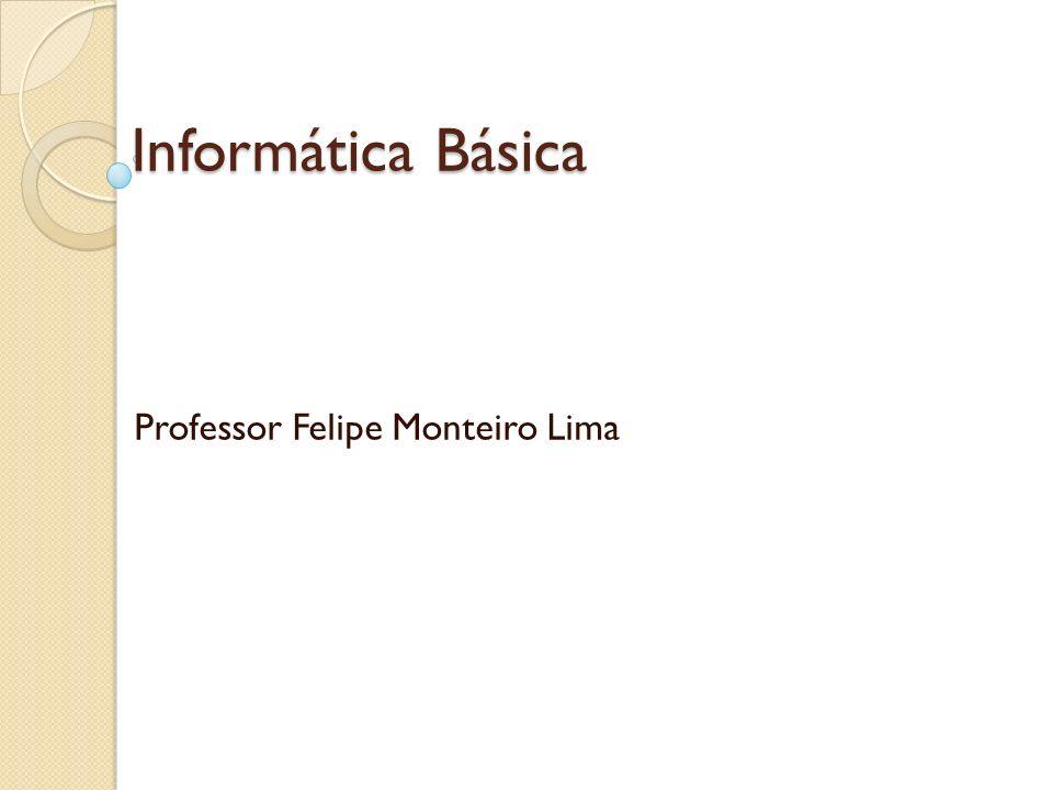 Professor Felipe Monteiro Lima