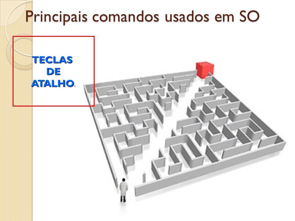 Principais comandos usados em SO