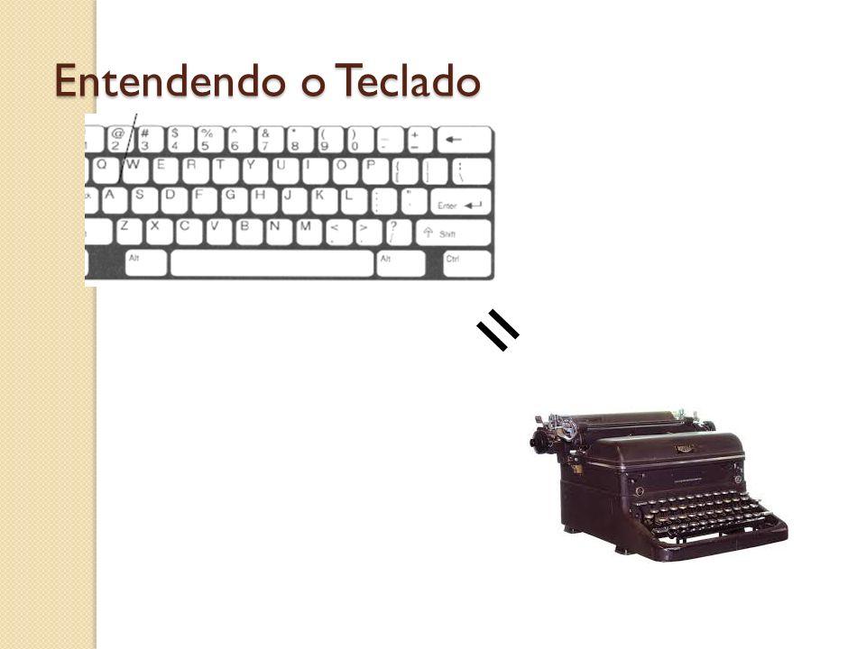 Entendendo o Teclado =