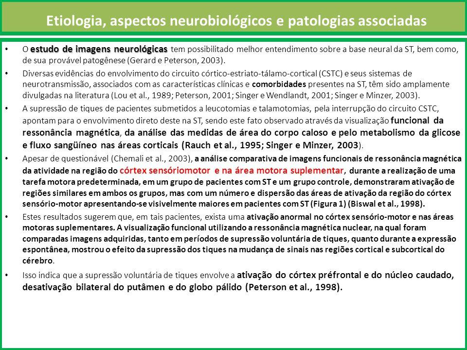 Etiologia, aspectos neurobiológicos e patologias associadas