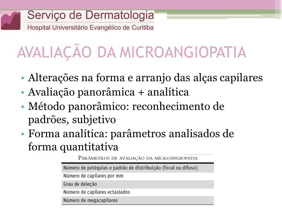 AVALIAÇÃO DA MICROANGIOPATIA
