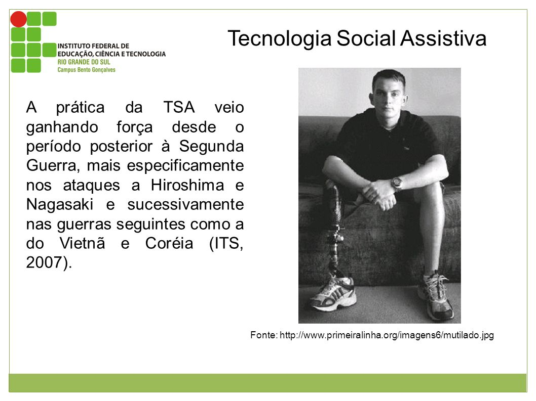 Tecnologia Social Assistiva
