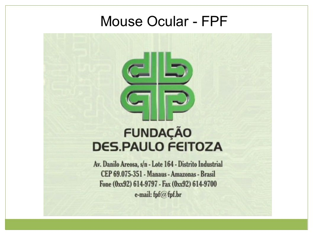 Mouse Ocular - FPF