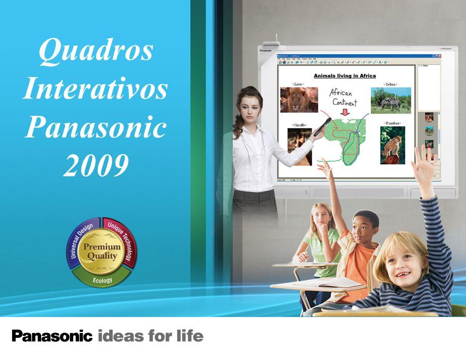 Quadros Interativos Panasonic 2009